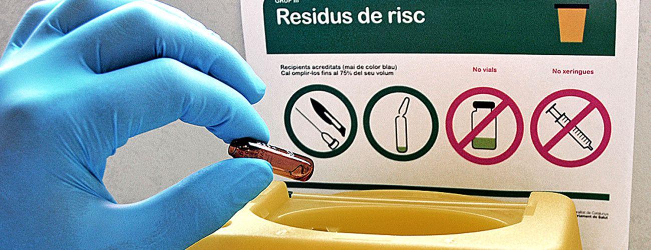 residus hospitalaris, residuos hospitalarios