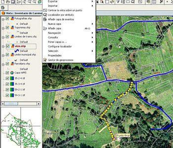 Sistemas información Geografica, Sistemes informació geogràfica